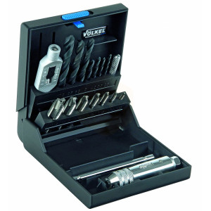 HSS Spiral Point Tap Sets in Plastic Cases