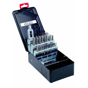 HSS Tap & Drill Set in Metal Case