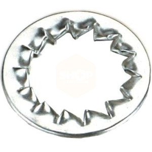 Internal Serrated Lock Washers - BZP