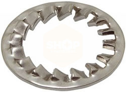 Internal Serrated Lock Washers - Stainless Steel A2
