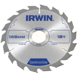 Irwin Circular Saw Blades 165mm