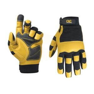 Kuny's Hybrid-275 Top Grain Leather Neoprene Cuff Gloves
