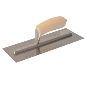 Marshalltown MXS Stainless Steel Finishing Trowels Wooden