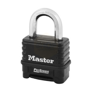Masterlock ProSeries Die-Cast Zinc Body 4 Digit Padlock 57mm