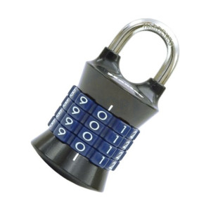 Masterlock Tower 37mm Padlock 4 Digit Grey