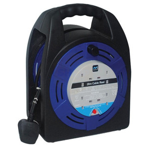 Handbag Cassette Reels - 20 Metre - 13 Amp