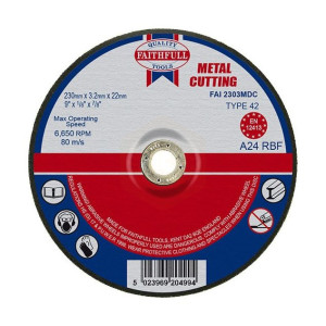 Metal Cutting Discs - Depressed Centre