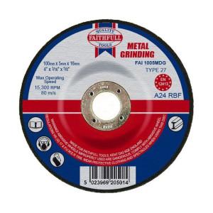 Metal Grinding Discs - Depressed Centre