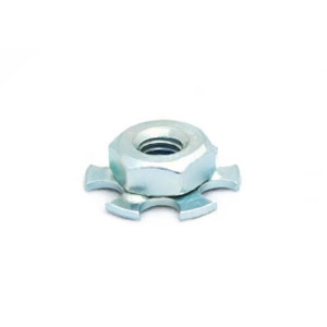 Mild Steel Hexagonal Nut - 19mm Round Sighted