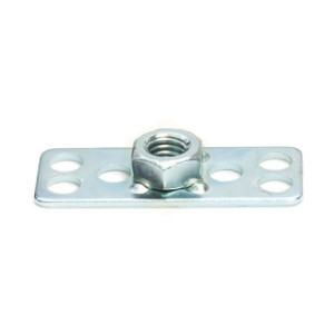Mild Steel Hexagonal Nut Bonding Fasteners-38mm x 15mm