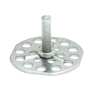 Mild Steel Plain Pin - 38mm Round