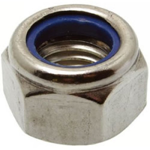 Nyloc Nut Type P - Metric Stainless A2
