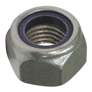 Nyloc Nut Type T - Metric Galvanised