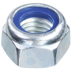 Nyloc Nut Type T Grade 10 - Metric BZP