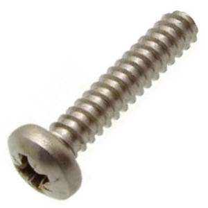 Pozi Pan Self Tapping Screws Type F(B) - Stainless A2