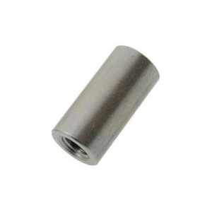 Round Studding Connector Nuts - Stainless A2