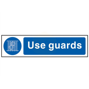 Scan Safety Sign - Use Guards