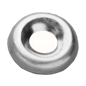 Screw Cup Washer - Brass Nickel Plated