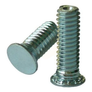 Self-Clinching Studs Flush Head Steel BZP