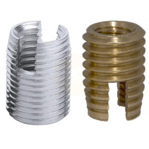 Threaded Inserts for Wood, Aluminium and Steel - Shop4Fasteners