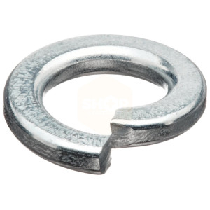 Square Section Spring Washers - Zinc Plated BZP