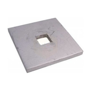 Square Plate Washers Square Hole - Self Colour