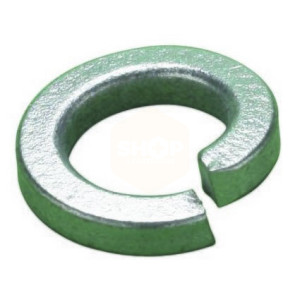 Square Section Spring Washers - Galvanised