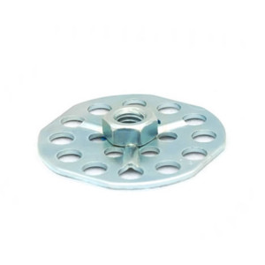 Stainless Steel Hexagonal Nut - 38mm Round Sighted