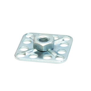 Stainless Steel Hexagonal Nut - 30mm Square Sighted