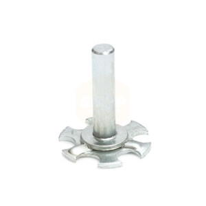 Stainless Steel Plain Pin Bonding Fasteners - 19mm Round