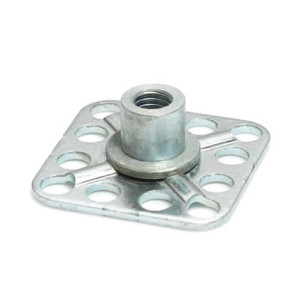 Stainless Steel Threaded Bush Bonding Fasteners-30mm Square