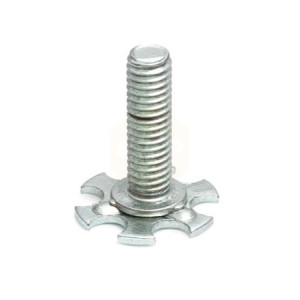 Stainless Steel Threaded Stud - 19mm Round