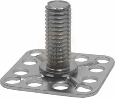 Stainless Steel Threaded Stud Bonding Fasteners -30mm Square