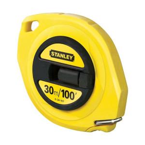 Stanley Closed Case Steel Tape 30m / 100ft (Width 9.5mm)