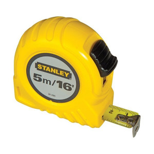Stanley Pocket Tape 5m/16ft