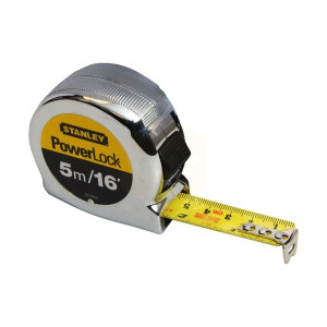 Stanley Powerlock Classic Tape 5m/16ft