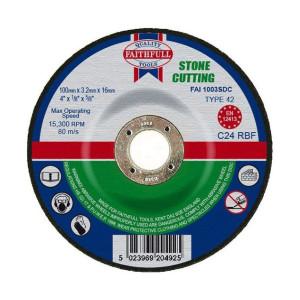 Stone Cutting Discs - Depressed Centre