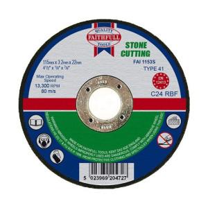 Stone Cutting Discs - Flat