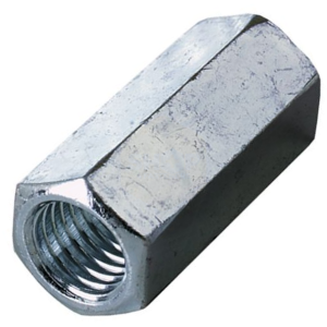 Hexagon Studding Connector Nuts - BZP