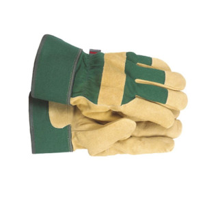Town and Country Ladies' Fleece Lined Leather Palm Gloves