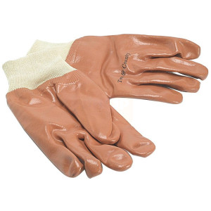 Town and Country Men's PVC Knitwrist Gloves