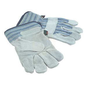 Town and Country Men's Suede Leather Palm Gloves