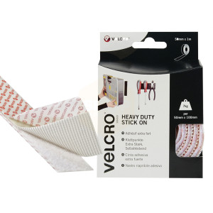 Velcro Heavy-Duty Stick on Tape with box