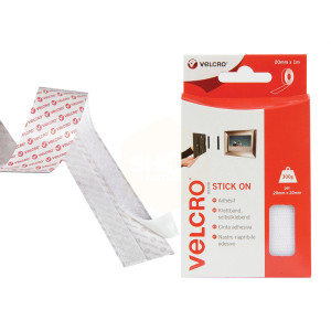 Velcro Hook & Loop Stick on Tape with Box