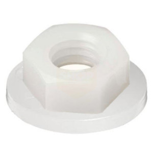 Hexagon Flange Nuts - Nylon