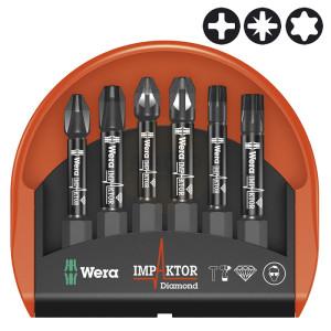 Wera Mini-Check Impaktor Screwdriver Bit Sets