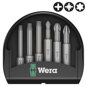 Wera Mini-Check PH/PZ/TX 50mm Screwdriver Bit Sets