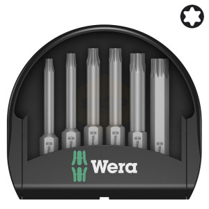 Wera Mini-Check Torx 50mm Screwdriver Bit Sets