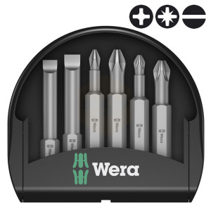 Wera Mini-Check Universal 50mm Screwdriver Bit Sets