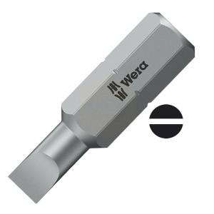 Wera Professional Slotted Screwdriver Insert Bits